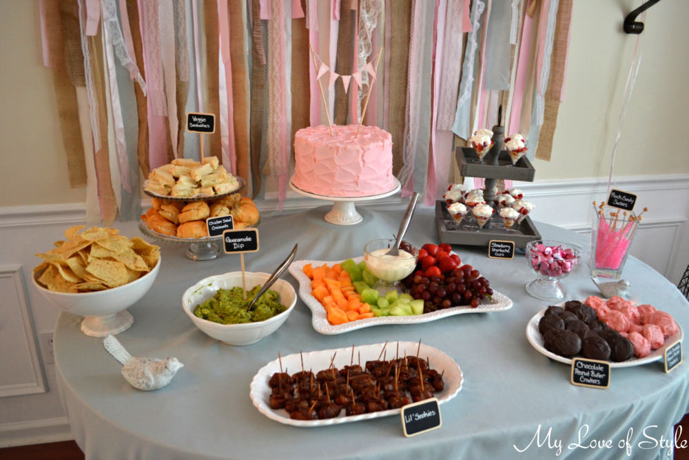 Food & Dessert Table