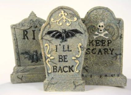 Halloween Gravestone Tutorial