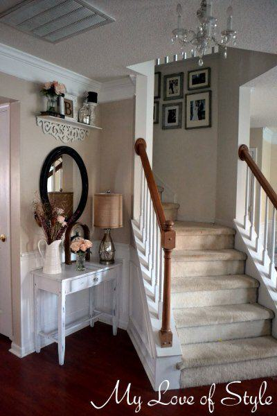 diy foyer makeover