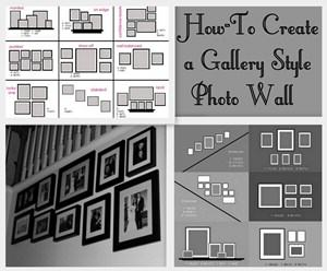 Gallery Wall Template how to create a gallery-style photo wall | my love of style – my