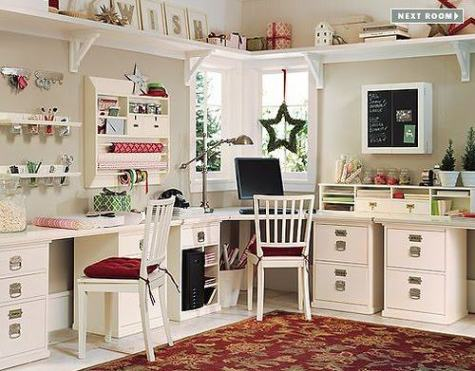 Pottery Barn Craft Room