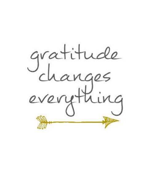 Gratitude Changes Everything Printable