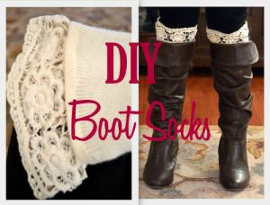 DIY Boot Sock Tutorial