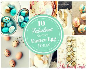10 Fabulous No-Dye Easter Egg Ideas