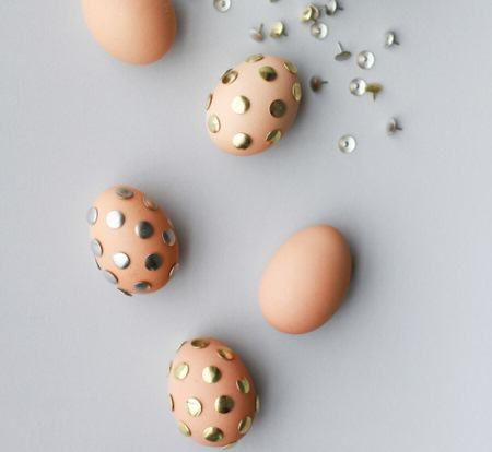 Thumbtack Easter Eggs