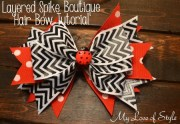 diy layered spike boutique hair