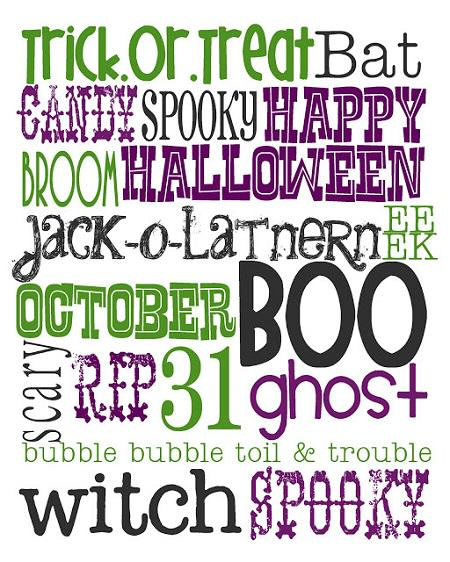 Free Halloween Art Printable