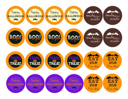 Free Halloween Favor Tags