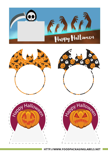 Free Halloween Treat Labels
