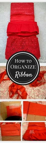 How-to Organize Ribbon