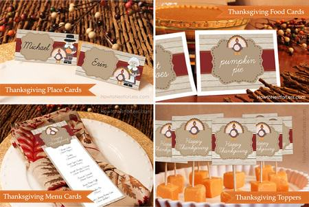 Free Thanksgiving Printale Labels