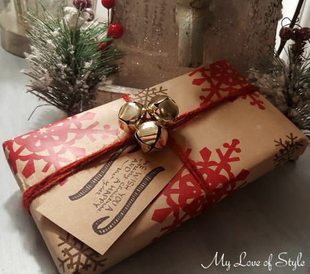 Jingle Bells and Twine gift wrap ideas