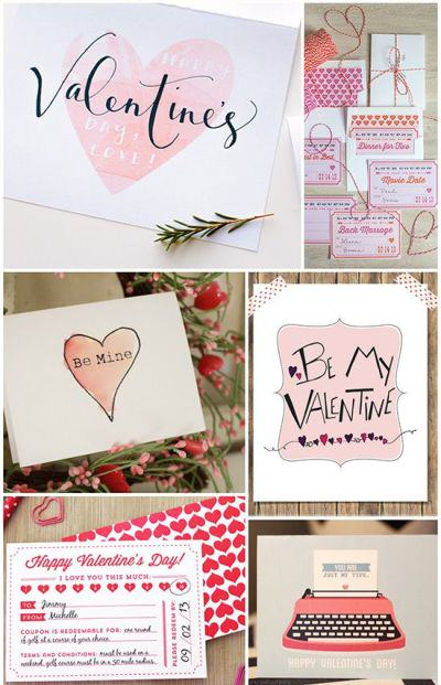 Free Valentine's Day Printable Love Notes