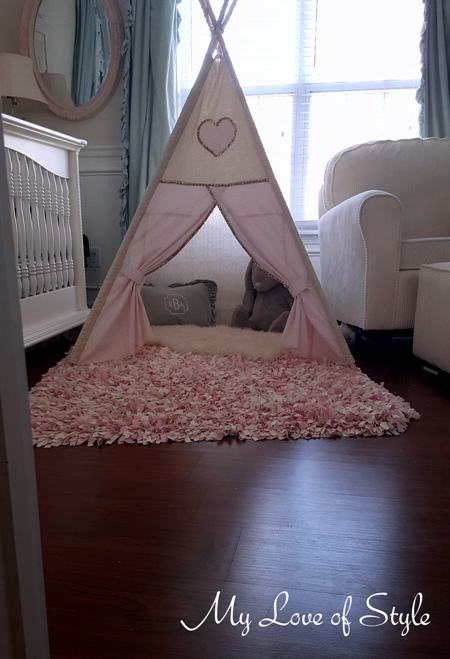 Step by step DIY Teepee Tutorial