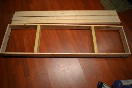 Assemble Table Top Frame