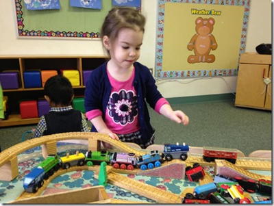 Playing with Trains