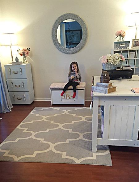 Playroom Storage - DIY Toy Box Bench