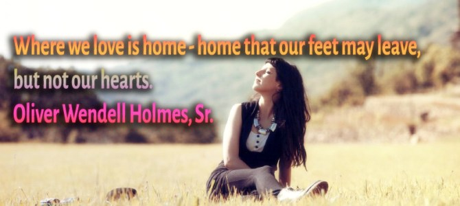 Where we love there is home