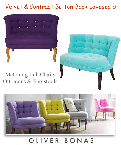 2 seater love chair arm accent seat sofas seaters armchairs snugglers velvet loveseat oliver bonas tub chairs seats