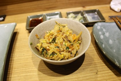 Vegetable and Egg Bibimbab