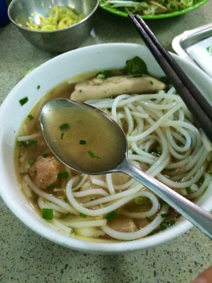 Clear soup Bun bo Hue!