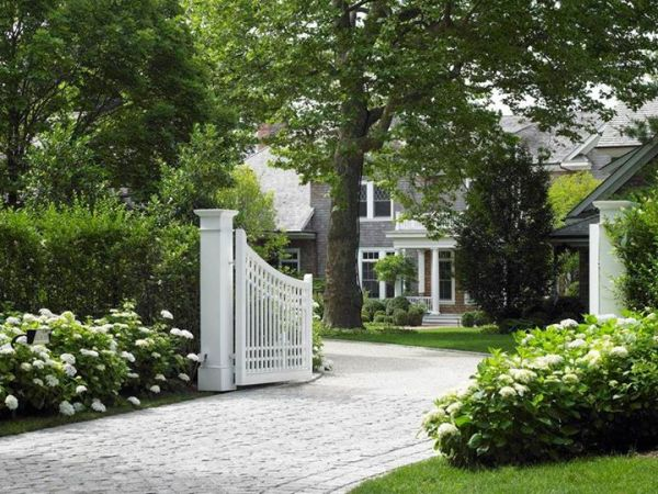 curb appeal driveways and entrances
