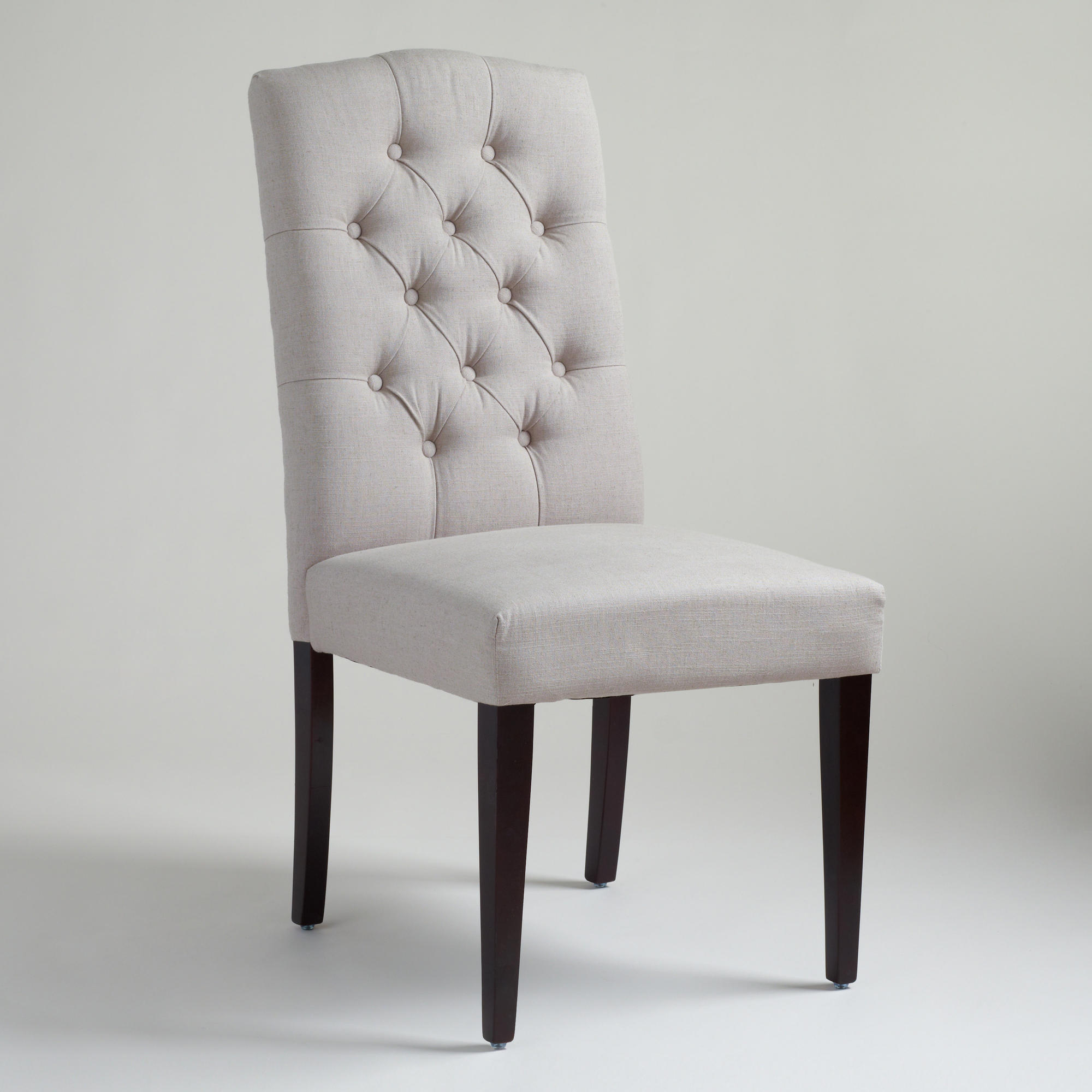 gray tufted chair 30 second stand rehab measures shop this look coral white navy and grey bedroom