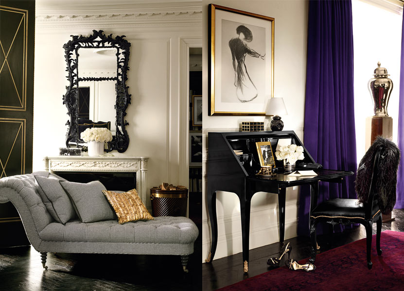 Glamorous home Ralph Lauren Home  Apartment No One
