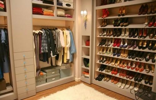 Stylish home Shoe closets