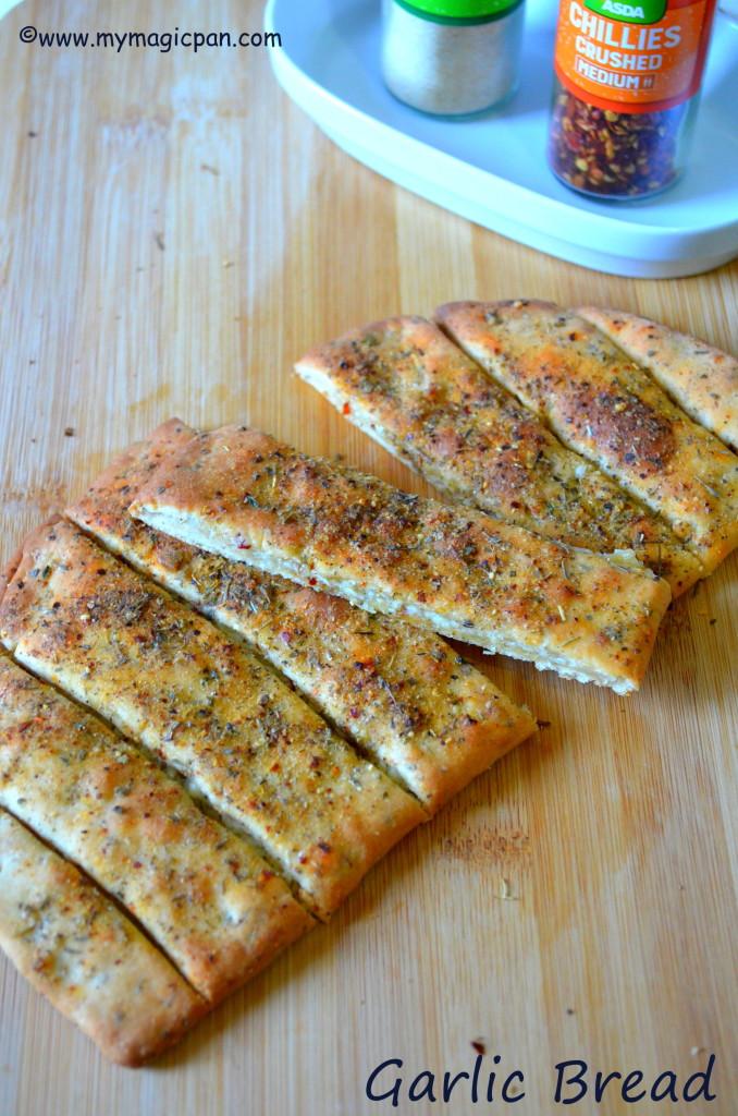 Garlic Bread Dominos Style Garlic Bread