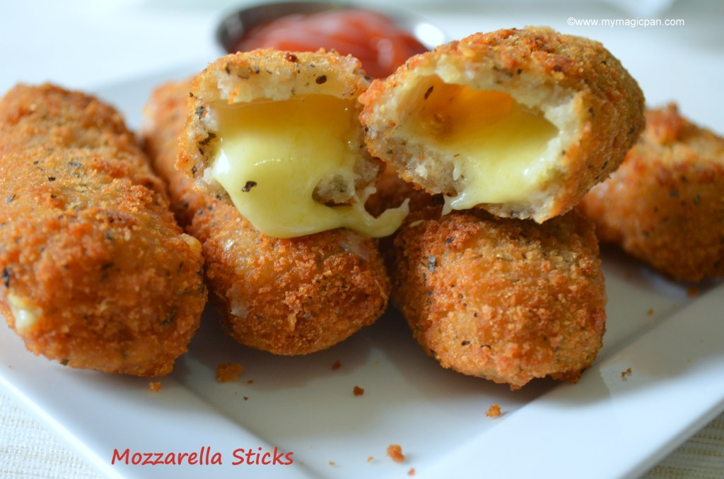 Mozzarella Sticks - Homemade Cheese Sticks