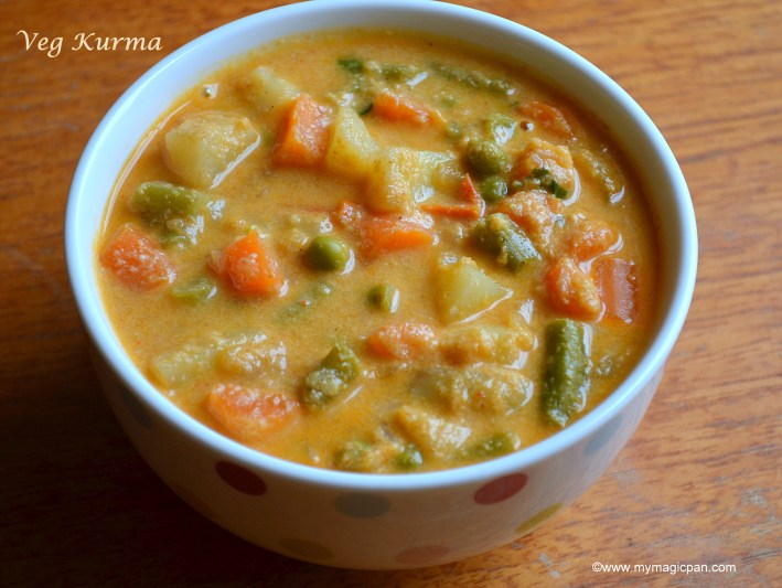 Veg Kurma My Magic Pan