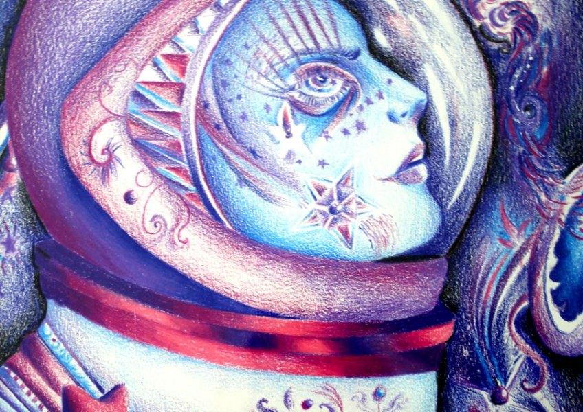 """""""Astronaut,"""" Paola Michelle Silva Lizárraga"""