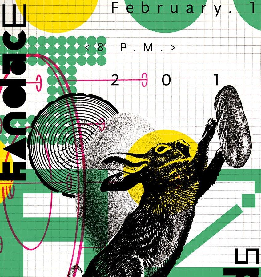 Alex Duncan, Narrative Folly Poster, Kansas City Art Institute