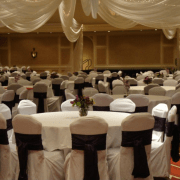 decorative chair covers wedding folding chairs vendor spotlight by design event decorating rentals mankato southern minnesota cover bands ruched
