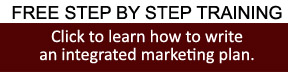 Step by step training-integrated marketing plan