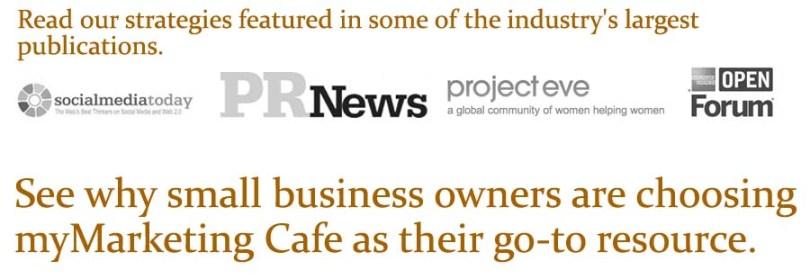 Social Proof myMarketing Cafe