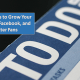 Daily steps to grow Facebook, LinkedIn and Twitter Fans