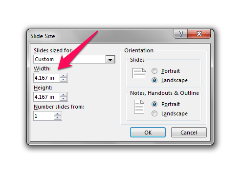 Adjust image size in PowerPoint
