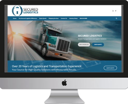 Secured Logistics Website Project