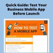 Test Mobile App