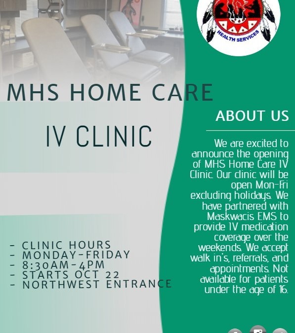IV Clinic Now Open