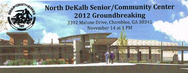 Chamblee Breaks Ground for New Senior Community Center