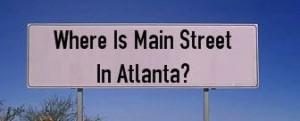 Where Is Main Street in Atlanta GA