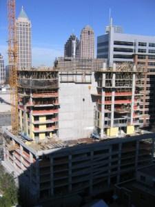 Aqua Midtown Atlanta Construction