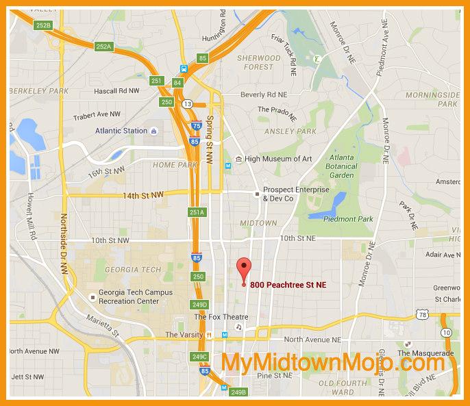 What Is Midtown Atlanta Where Is Midtown Atlanta - Where is atlanta