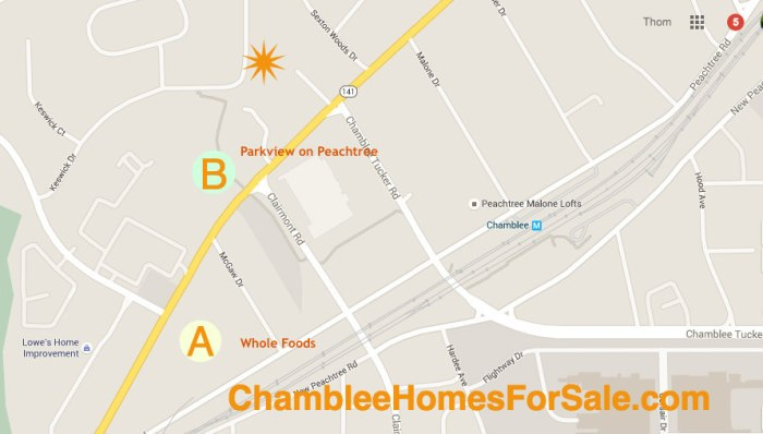 Chamblee Homes For Sale Keswick Village