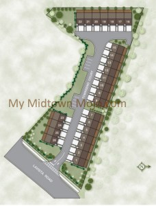 Site Plan Townsend at Toco Hills
