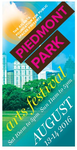 Piedmont Park Arts Festival August 13-14
