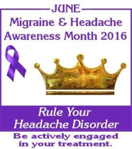 migraine awareness month 2016
